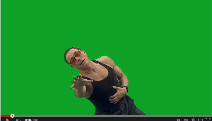 Van Damme explodes into content marketing