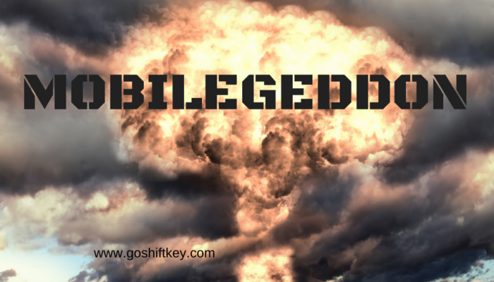 Hold on to your SEO, Mobilegeddon is here!