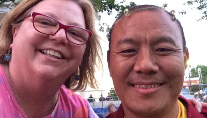A good reminder in work and play — taught to Shift Key CEO by a Buddhist monk