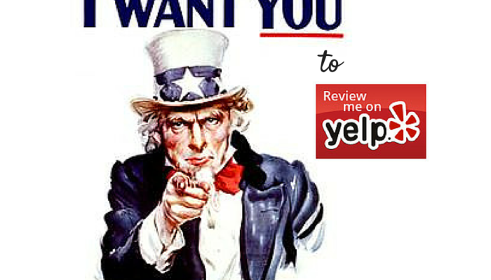Uncle Sam WANTS YOU … to review him on Yelp