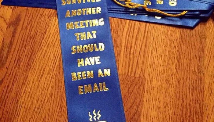I survived another meeting …